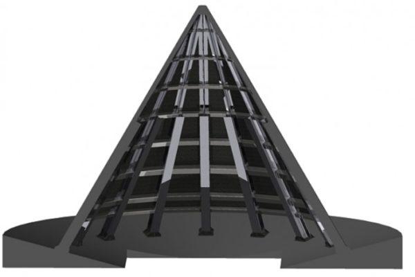Cono descarga silo – Barcelona