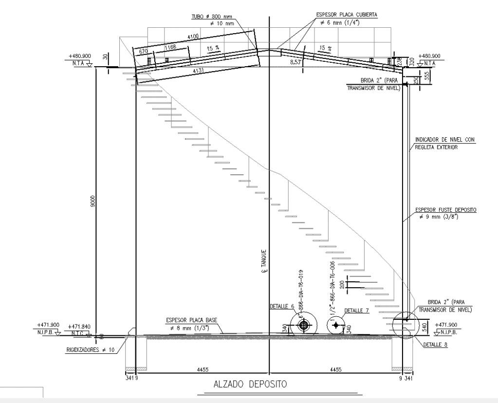 Deposito de fuel 01 - Proyectos ACCE Ingeniería