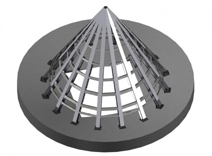 Cono invertido 02 - Proyectos ACCE Ingeniería