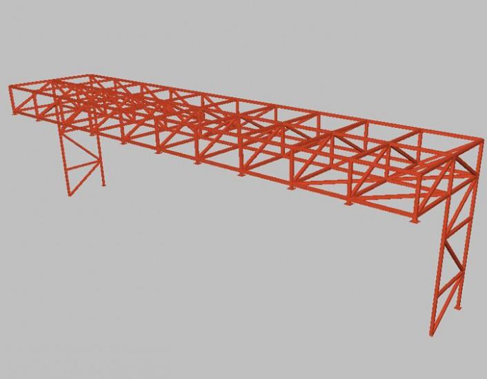 Marquesinas aeropuerto de Tenerife 03 - Proyectos ACCE Ingeniería