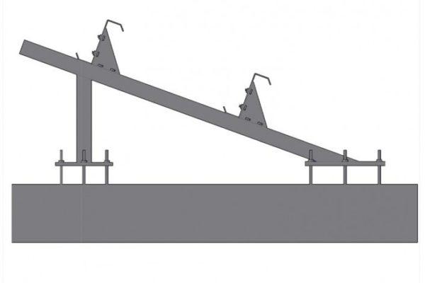 Estructura soporte placas – USA