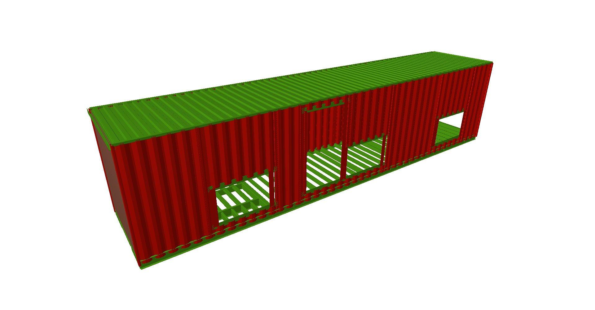 Contenedores subestación 01 - Proyectos ACCE Ingeniería