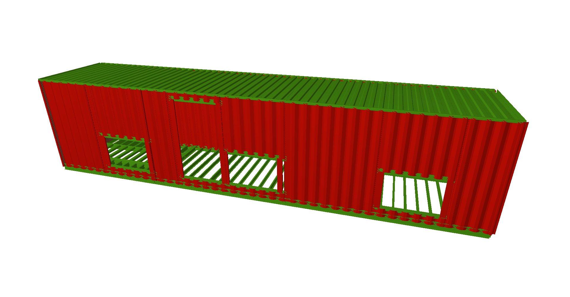 Contenedores subestación 02 - Proyectos ACCE Ingeniería