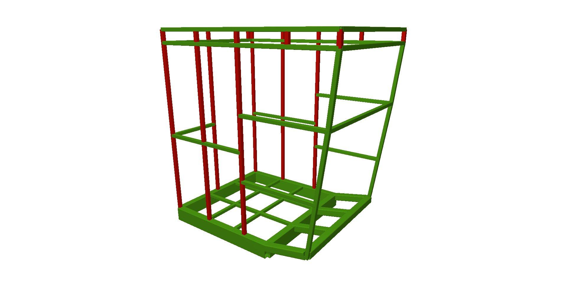 Cabina grúa 01 - Proyectos ACCE Ingeniería
