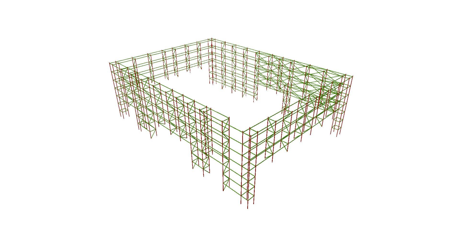Estructura Stand 01 - Proyectos ACCE Ingeniería
