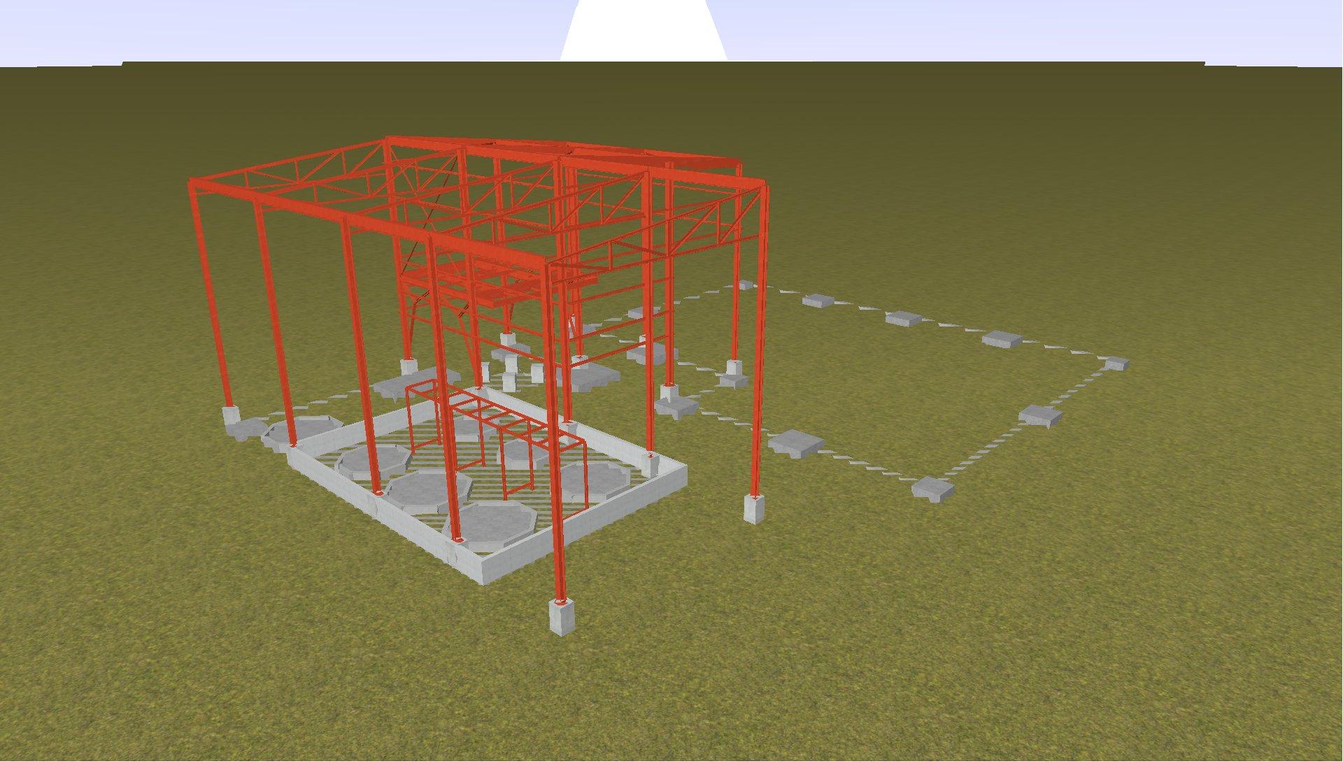 Nave Planta química 01 - Proyectos ACCE Ingeniería