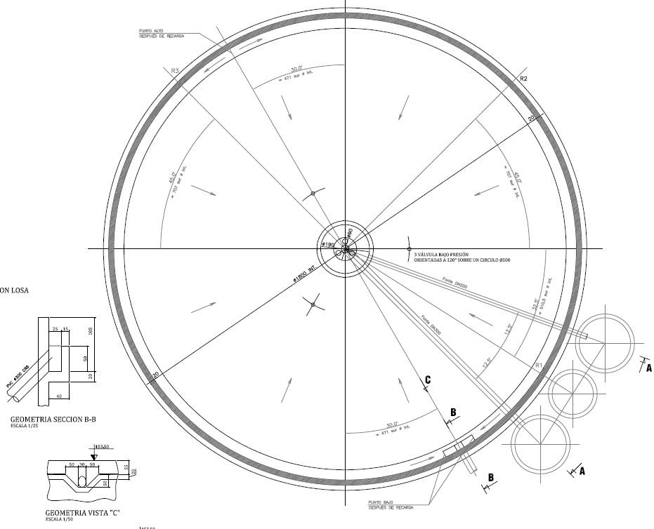 Depósito de lodos 02 - Proyectos ACCE Ingeniería