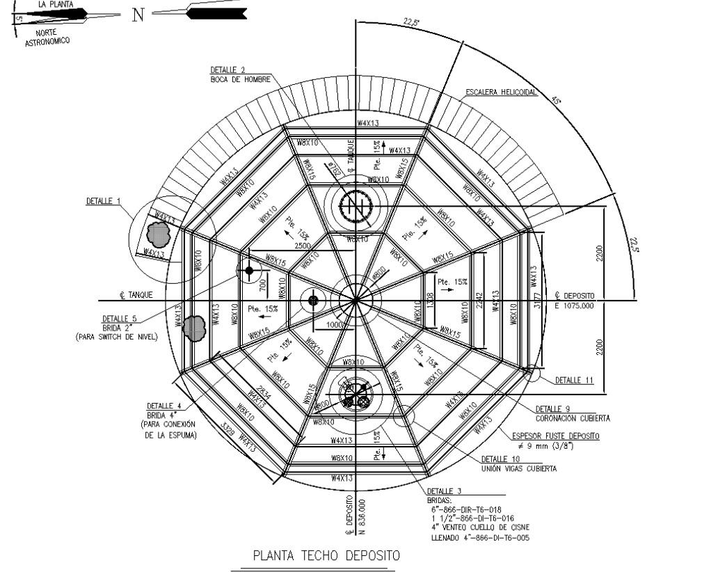 Deposito de fuel 02 - Proyectos ACCE Ingeniería