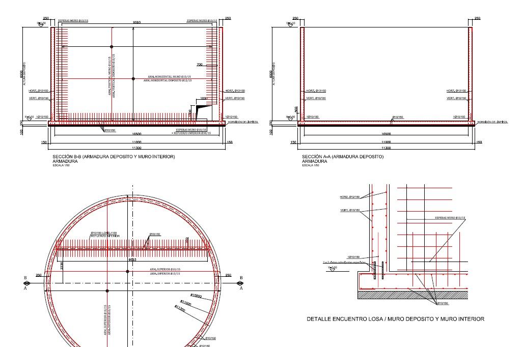 Depósito de purines 02 - Proyectos ACCE Ingeniería