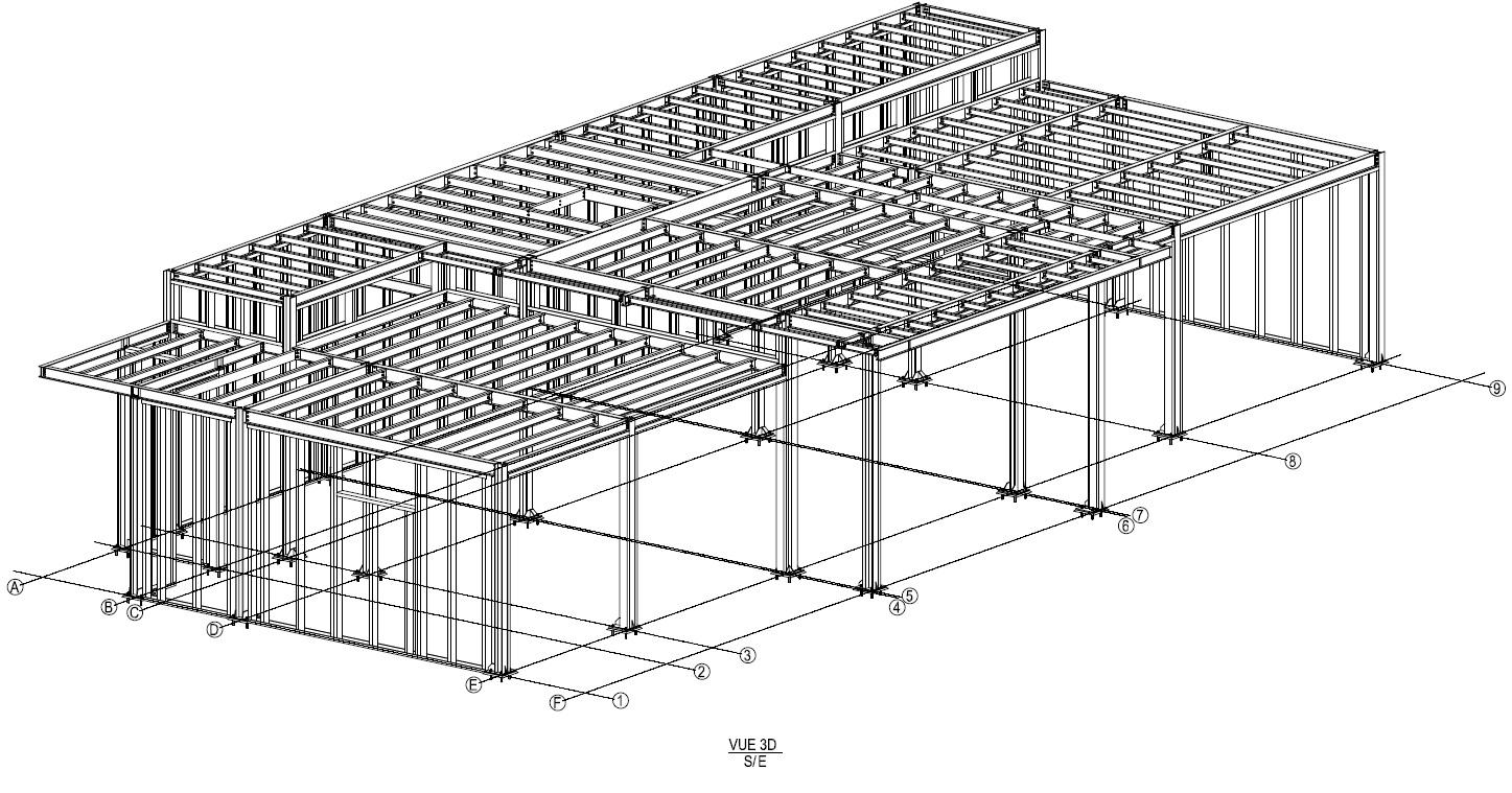 Vivienda unifamiliar 01 - Proyectos ACCE Ingeniería