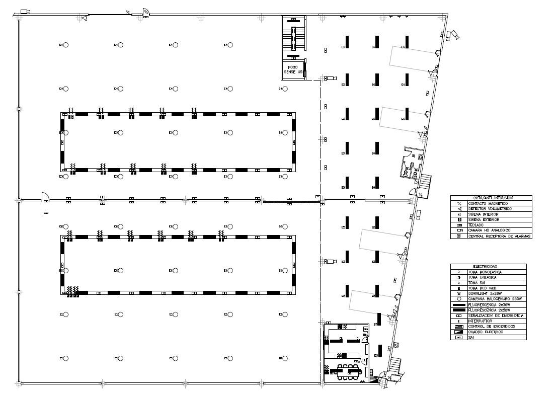 Reforma de almacén 01 - Proyectos ACCE Ingeniería